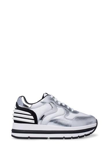 Voile Blanche Voile Blanche 0012014751.03.1Q28 Deri ve Süet  Kadın Sneakers Gümüş